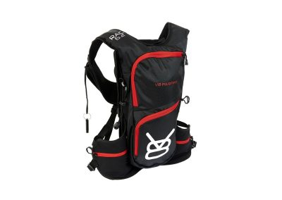ZAINO V8 EQUIPMENT RAC6.2 RED/BLACK